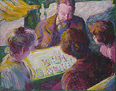 The Card Players By Theodore Earl Butler