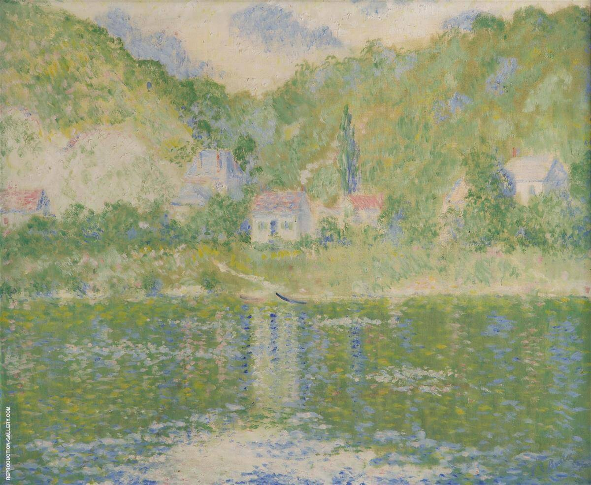 The Seine at Port Villez By Theodore Earl Butler