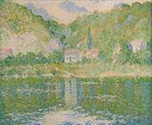 The Seine at Port Villez By Theodore Earl Butler