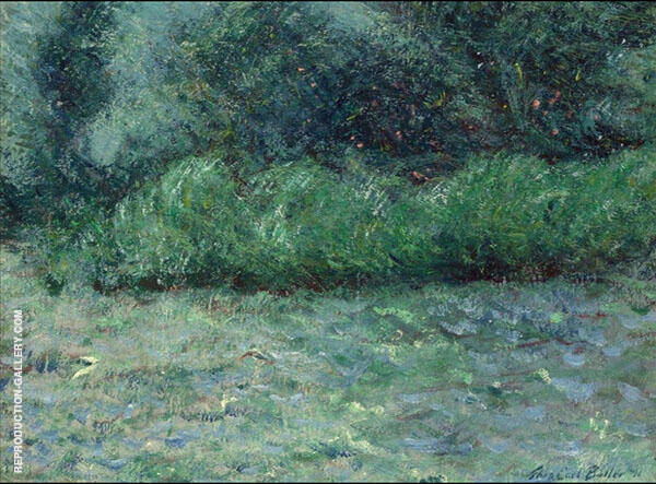The Wind in The Willows Giverny 1891 By Theodore Earl Butler
