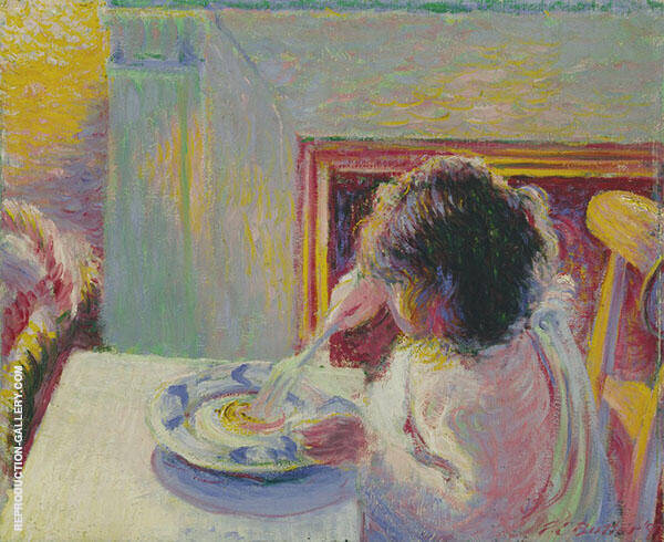 The Breakfast 1897 By Theodore Earl Butler