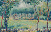 Trees at Giverny By Theodore Earl Butler