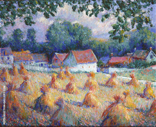 Women in Giverny By Theodore Earl Butler