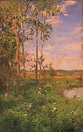 At The Edge of The Pond By Walter Launt Palmer