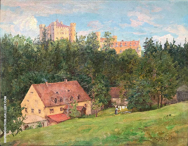 Castle on The Hill 1894 By Walter Launt Palmer