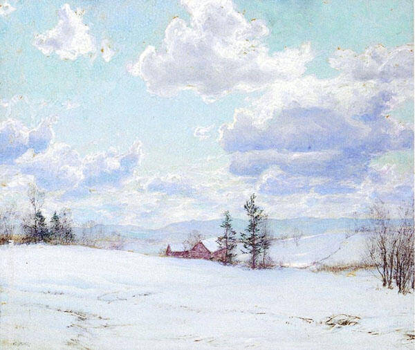 Cloud Shadows By Walter Launt Palmer