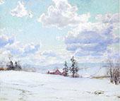 Cloud Shadows By Walter Launt Palmer