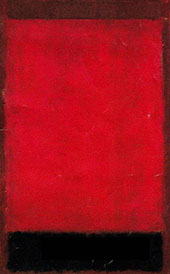 Brown, Red, Balck 1959 By Mark Rothko (Inspired By)