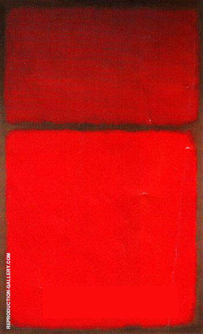 Untitled 1963 by Mark Rothko (Inspired By)   Oil Painting Reproduction Replica On Canvas - Reproduction Gallery