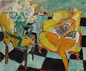 Danseuse Assise dans un Fauteuil 1942 By Henri Matisse
