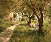 In The Afternoon in The Hammock By Walter Launt Palmer