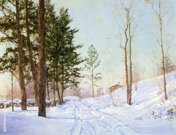 In The Berkshire By Walter Launt Palmer
