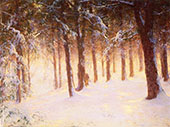 Jewelled Pines By Walter Launt Palmer