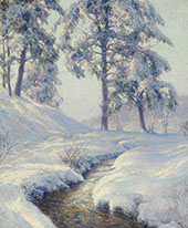 Jewelled Pines II By Walter Launt Palmer