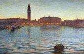A Venetian Twilight By Walter Launt Palmer