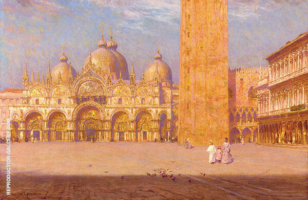 San Marco 1895 Painting By Walter Launt Palmer - Reproduction Gallery