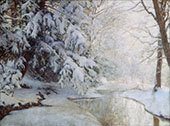 Silent Dawn By Walter Launt Palmer