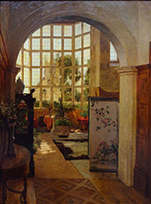 Stanway Interior 1881 By Walter Launt Palmer