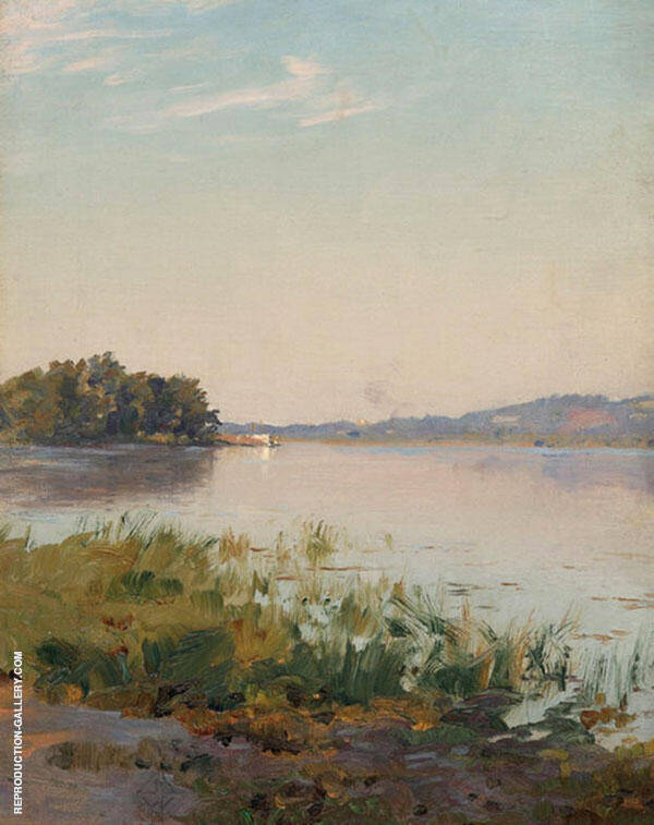 Summer on The Hudson Painting By Walter Launt Palmer