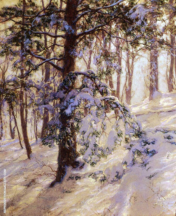 The Bent Branch Painting By Walter Launt Palmer - Reproduction Gallery