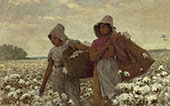 Cotton Pickers 1876 By Winslow Homer