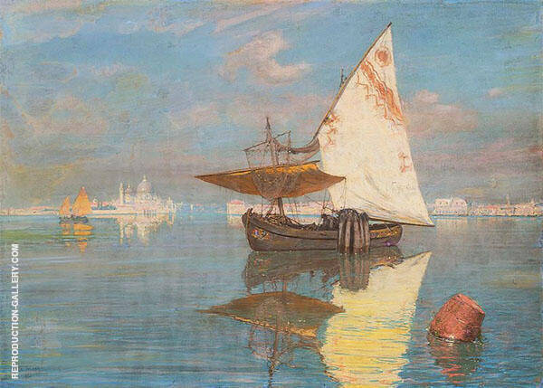 View of St Mark's Venice Painting By Walter Launt Palmer