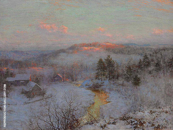 Waning Winter Painting By Walter Launt Palmer - Reproduction Gallery