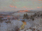 Waning Winter By Walter Launt Palmer