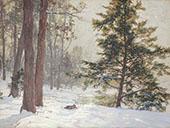 Winter Landscape By Walter Launt Palmer
