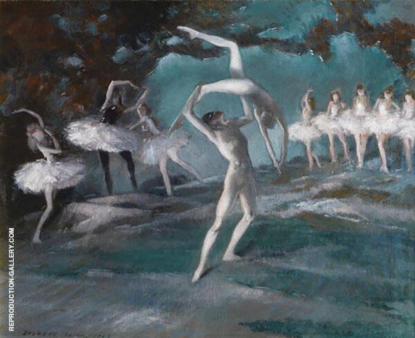 Ballet 1943 By Everett Shinn
