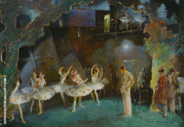 Ballet Rehearsal By Everett Shinn