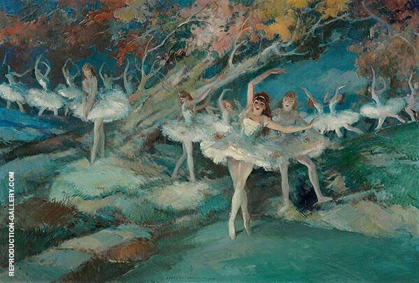 Ballet 1944 By Everett Shinn