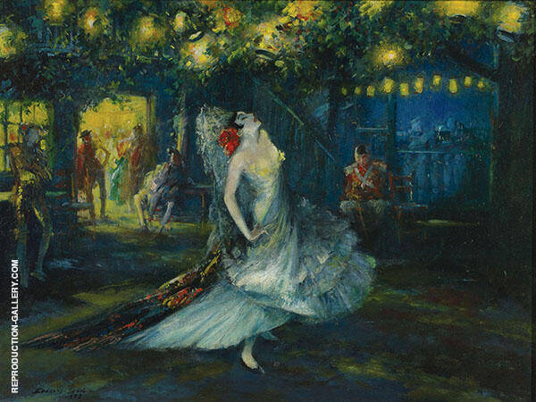 Carmen Stage 1908 Painting By Everett Shinn - Reproduction Gallery