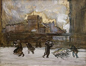 Cooper Union 1903 By Everett Shinn