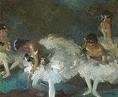 Dancers Backstage 1933 By Everett Shinn