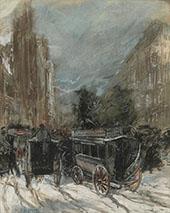 Fifth Avenue 1899 By Everett Shinn
