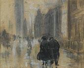 Fifth Avenue 1910 By Everett Shinn