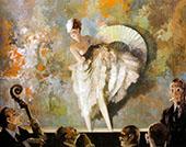 French Vaudeville By Everett Shinn