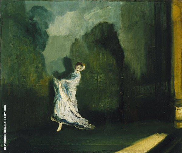 Keiths Union Square Painting By Everett Shinn - Reproduction Gallery