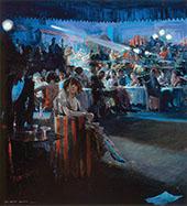 Nightclub Scene 1934 By Everett Shinn