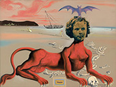 Shirley Temple the Youngest Sacred Monster of Contemporary Cinema 1939 By Salvador Dali