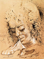 Cannibalism of the Objects By Salvador Dali