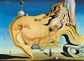 The Grand Masturbator By Salvador Dali