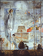 The Discovery of America by Christopher of Columbus By Salvador Dali