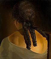 Girl's Back 1936 By Salvador Dali