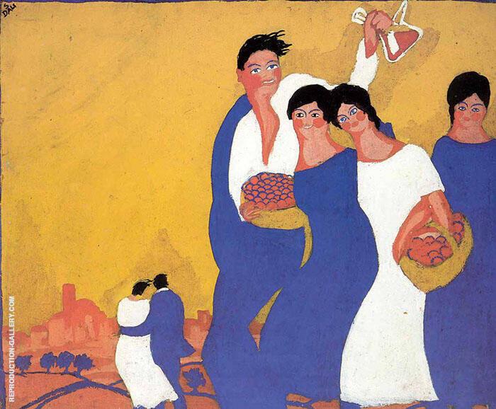 Fire i Festes de la Santa Creu 1921 By Salvador Dali