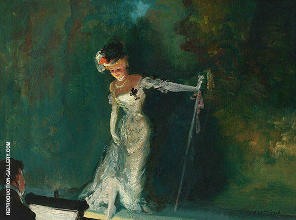Revue 1908 Painting By Everett Shinn - Reproduction Gallery