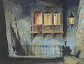 The Bright Shawl By Everett Shinn