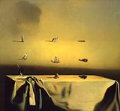Morphological Echo 1936 By Salvador Dali