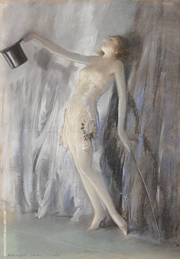 The Curtain Call Painting By Everett Shinn - Reproduction Gallery